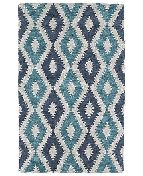Kaleen Lakota LKT01-78 Turquoise 8' x 10' Area Rug