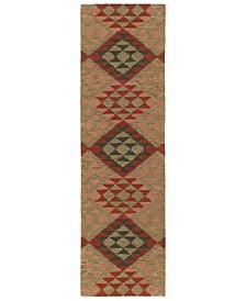 Lakota LKT02-86 Multi 2'3 x 8' Runner Rug