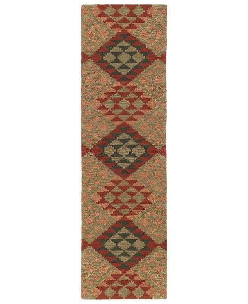 """Kaleen Lakota LKT02-86 Multi 2'3"""" x 8' Runner Rug"""