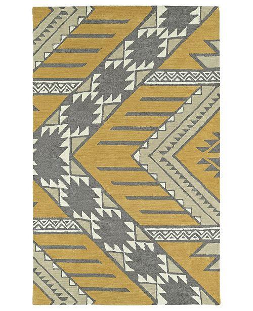 """Kaleen Lakota LKT04-07 Butterscotch 3'6"""" x 5'6"""" Area Rug"""