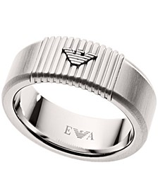 Emporio Men's Stainless Steel Ring Band