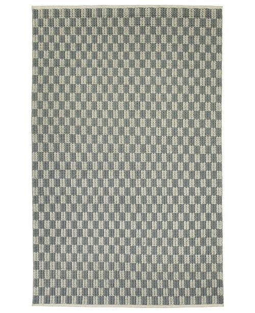 """Kaleen Paracas PRC05-75 Gray 5' x 7'6"""" Area Rug"""
