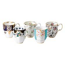 Royal Albert 100 Years 1900-1940 5-Piece Mug Set
