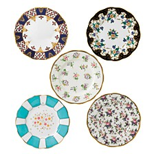 100 Years 1900-1940 5-Piece Plate Set