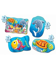 The Learning Journey My First Puzzle Sets 4 in a Box Puzzles- Ocean