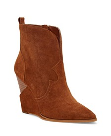 Hilrie Wedge Booties