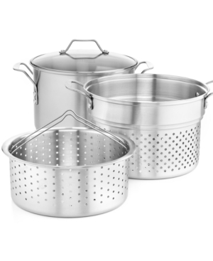 Closeout! Simply Calphalon Stainless Steel 8 Qt.