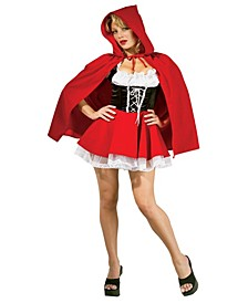 BuySeason Women's Riding Hood Costume
