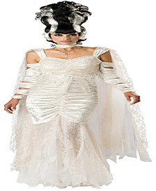 BuySeason Women's Bride of Frankenstein Elite Costume