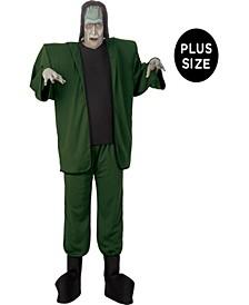 Men's Universal Studios Monsters Frankenstein Plus Costume