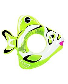 "34"" Inflatable Fish Children's Swimming Pool Swim Ring Inner Tube"
