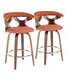 Gardenia Counter Stool, Set of 2