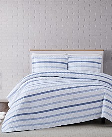Waffle Stripe Comforter Set Collection