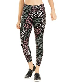 Printed High-Waist Leggings
