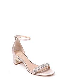 Jewel Badgley Mischka Ramsey Ornamented Sandals