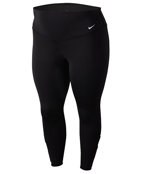 Nike Plus Size Yoga Collection Cutout Training Tights