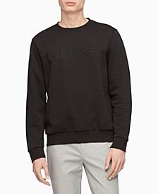 Men's Tonal Embroidered Logo Fleece Sweatshirt
