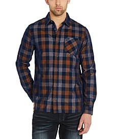 Men's Sichill Regular-Fit Plaid Shirt