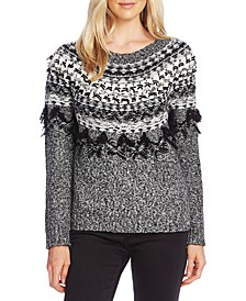 Fairisle Fringe Sweater