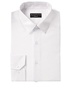 Alfani Men's AlfaTech Solid Dress Shirt, Created for Macy's