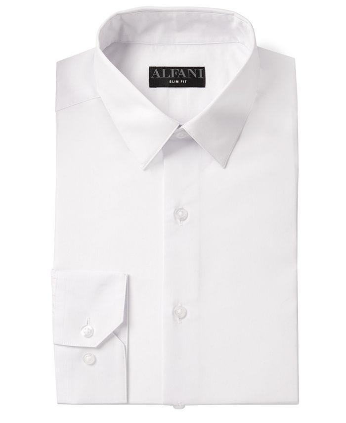 Alfani - Men's AlfaTech Solid Dress Shirt