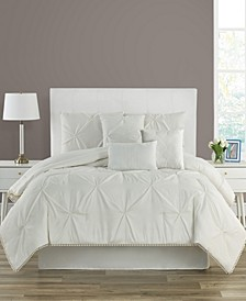 Pom-Pom Full 7 Piece Comforter Set