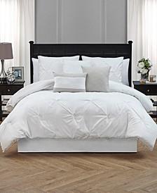 Pom-Pom Cal King 7 Piece Comforter Set
