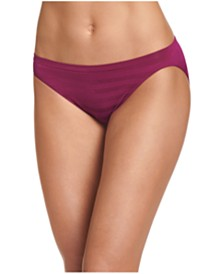 Jockey Comfies Matte and Shine Bikini Underwear 1305
