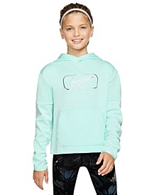 Big Girls Dri-FIT Therma Fleece Colorblocked Hoodie