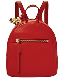 Megan Leather Backpack