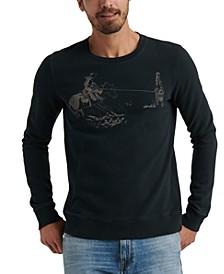 Men's Cowboy Graphic Sweatshirt