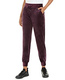 Velour Joggers, Created for Macy's