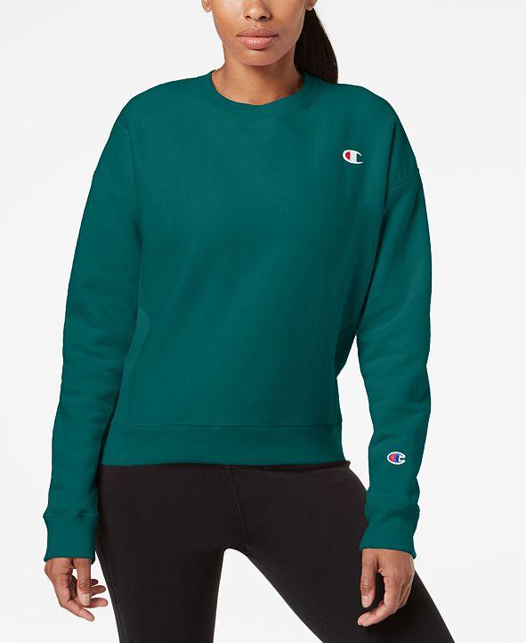 Champion Women's Essential Reverse Weave Fleece Sweatshirt