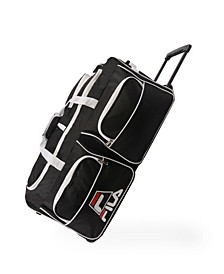 "30"" 8-Pocket Rolling Duffel Bag"