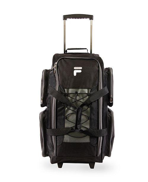 "Fila 26"" Lightweight Rolling Duffel Bag"