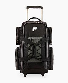 "22"" Fila Lightweight Rolling Duffel Bag"