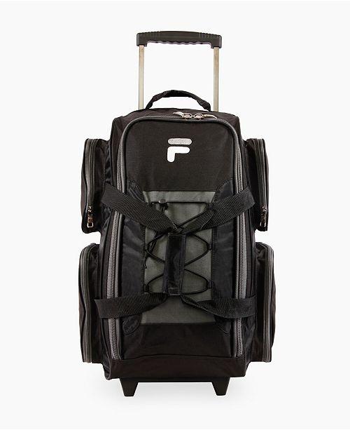 "Fila 22"" Lightweight Rolling Duffel Bag"