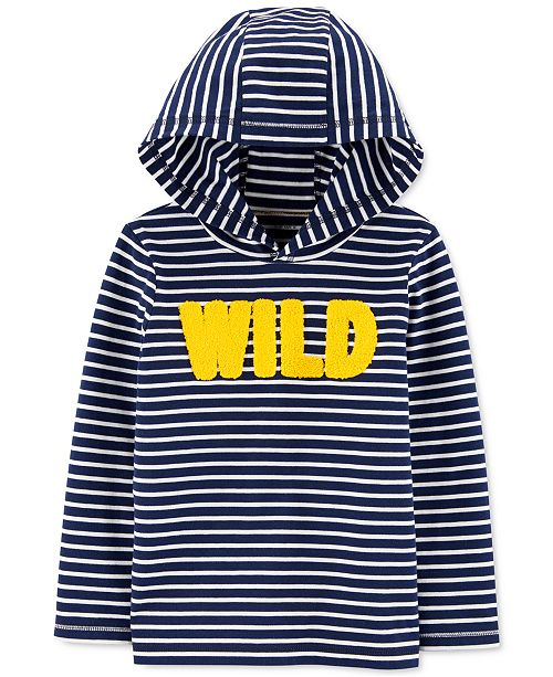 Carter's Toddler Boys Cotton Wild Hooded T-Shirt