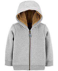 Little & Big Boys Fleece-Lined Zip-Up Hoodie