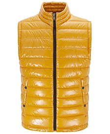 BOSS Men's Cilla Water-Repellent Padded Gilet Vest