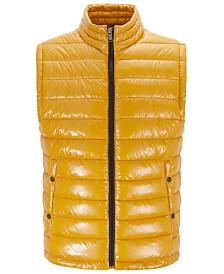 BOSS Men's Cilla Water-Repellent Padded Gilet Vest
