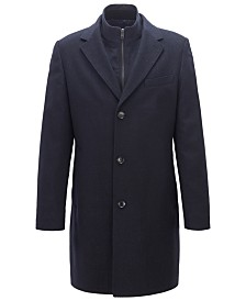 BOSS Men's Wool Cashmere Coat