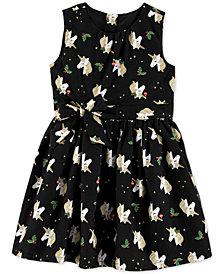Carter's Toddler Girls Holly Unicorn-Print Dress
