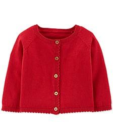 Baby Girls Cotton Cardigan