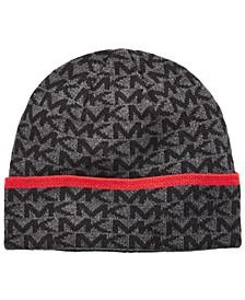 Men's Striped-Cuff Hat
