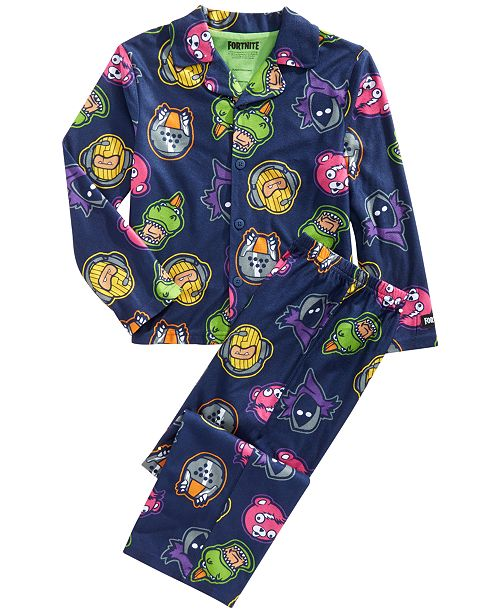 AME Little & Big Boys 2-Pc. Fortnight Pajamas Set