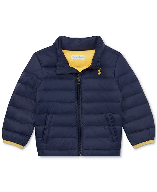 Polo Ralph Lauren Baby Boys Packable Quilted Down Jacket