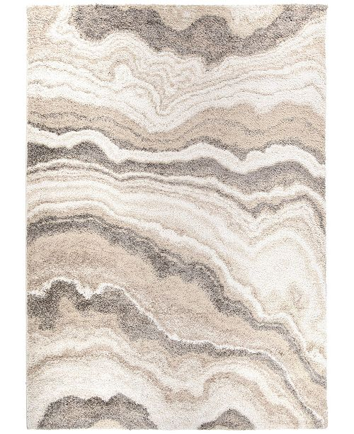 "Palmetto Living Mystical Cascade Natural 5'3"" x 7'6"" Area Rug"