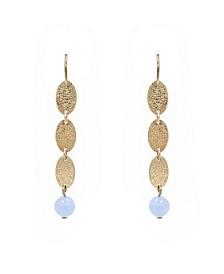 Stephanie Kantis Flow in Blue Chalcedony Stone Earring