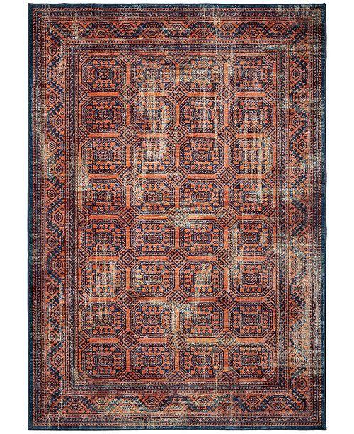 "Palmetto Living ORI417814 Alexandria Northern Mashad Thatch Red 6'5"" x 9'6"" Area Rug"